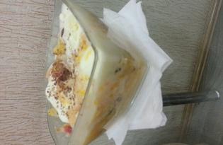 Фрукты в духовке под сложным соусом (рецепт с пошаговыми фото)