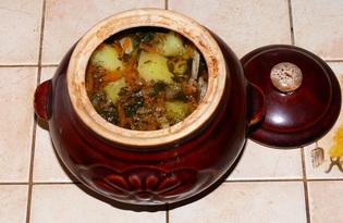 Мясо в горшочке (рецепт с пошаговыми фото)