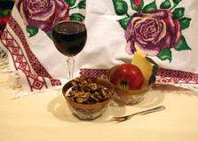 """Рецепт """"Острые грецкие орехи кандированные в меду"""" пошаговое фото"""