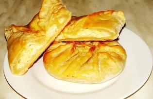 Хачапури с творогом и сыром (пошаговый фото рецепт)