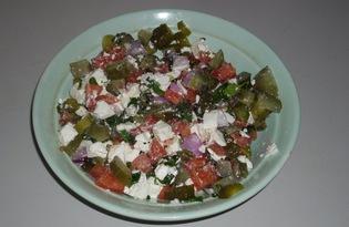 Салат по-селянски (пошаговый фото рецепт)