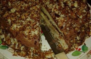 Бисквитный торт (пошаговый фото рецепт)