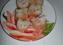 Суши с крабовыми палочками и с огурцом (рецепт с пошаговым фото)