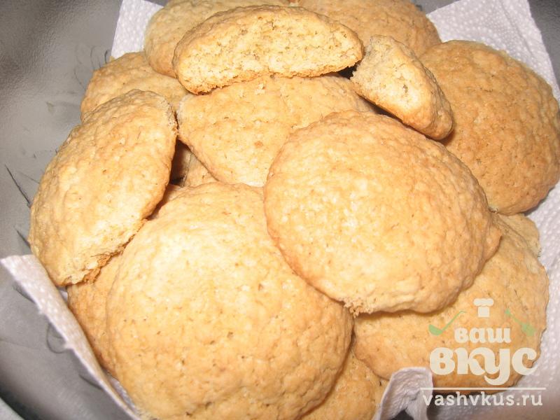 Печенье овсяное пошаговый рецепт с фото