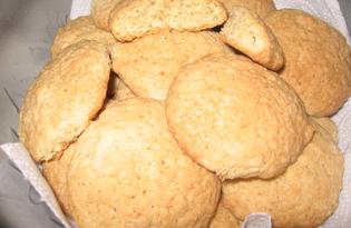 """Овсяное печенье """"Золотистое"""" (рецепт с пошаговым фото)"""