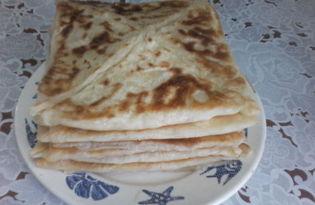 Катмер (турецкие слоенные лепешки) рецепт с пошаговыми фото