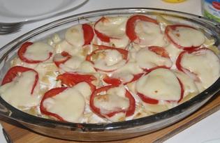 """Рецепт """"Макаронная запеканка с курицей"""" пошаговое фото"""