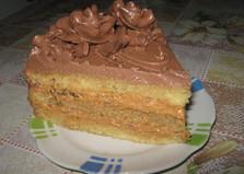 Торт бисквитный (рецепт с пошаговыми фото)