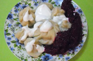 Хинкали (пошаговый фото рецепт)