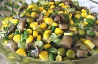 Грибной салат «Фантазия» (пошаговый фото рецепт)