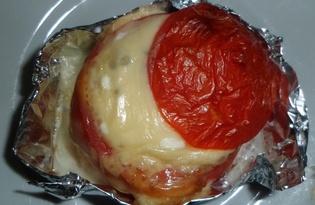 Яичница в помидоре (рецепт с пошаговыми фото)
