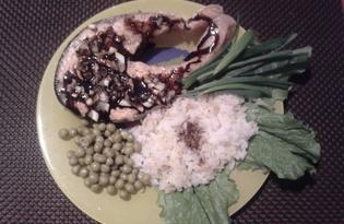 Красная рыба под пикантной глазурью (рецепт с пошаговыми фото)