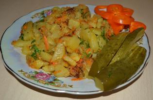 Картофель жареный (рецепт с пошаговыми фото)