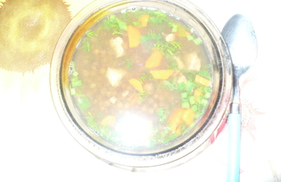 Чечевичный суп с мясом (рецепт с пошаговыми фото)