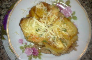 Запеканка с жареным картофелем (рецепт с пошаговыми фото)