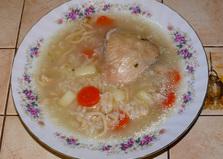 Куриный суп с домашней лапшой (рецепт с пошаговыми фото)