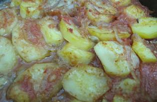 Картофель в томатном соусе со специями по-египетски (рецепт с пошаговыми фото)