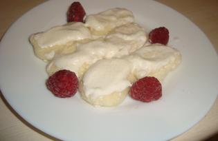 Ленивые вареники с фруктами (рецепт с пошаговыми фото)