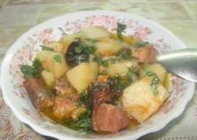 Жаркое со свининой и черносливом (пошаговый фото рецепт)