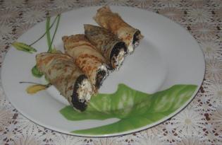 Блины на кефире или йогурте (пошаговый фото рецепт)