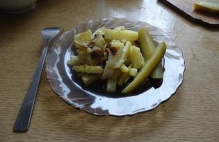 Жаренный картофель с грибами по быстрому (рецепт с пошаговыми фото)