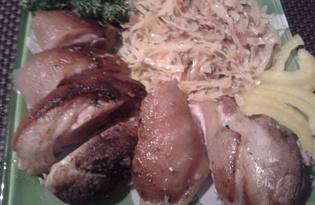Свиная рулька запеченная (пошаговый фото рецепт)