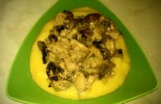 Картофельное пюре с оригинальной подливой (рецепт с пошаговыми фото)