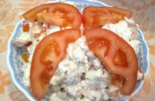 Салат с омлетом (рецепт с пошаговыми фото)