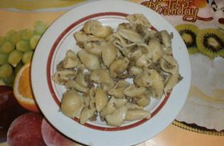 Макароны с мясом (рецепт с пошаговыми фото)