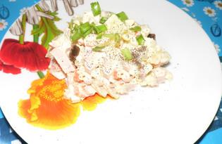 Оливье с грибами (рецепт с пошаговыми фото)