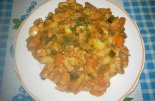 Азу из свинины (рецепт с пошаговыми фото)
