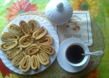 Рулет с лимонным джемом (пошаговый фото рецепт)