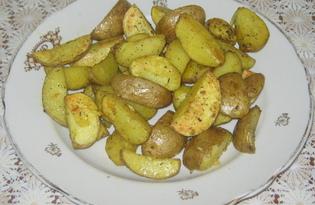 Запечённая картошка по-домашнему (пошаговый фото рецепт)