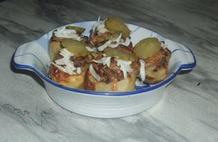 Фаршированная картошка (пошаговый фото рецепт)