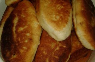 Пироги жареные с капустой и грибами (рецепт с пошаговыми фото)