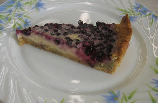 Черничный пирог (пошаговый фото рецепт)