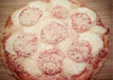 Пицца с моцареллой (рецепт с пошаговыми фото)