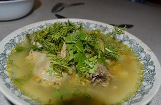 Куринный суп с брокколи в мультиварке (пошаговый фото рецепт)