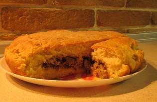 Мясная кулебяка (пошаговый фото рецепт)