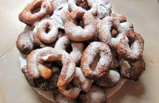 Лимонно-ванильные пончики (пошаговый фото рецепт)