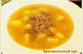 Крестьянский суп (рецепт с пошаговыми фото)