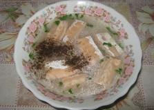 Уха из брюшек лосося (пошаговый фото рецепт)