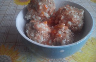 Тефтели обыкновенные (пошаговый фото рецепт)