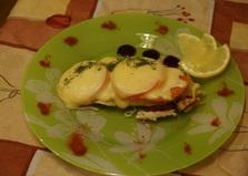 Тилапия с шампиньонами и сыром (рецепт с пошаговыми фото)