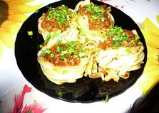 Ужин холостяка в мультиварке (пошаговый фото рецепт)