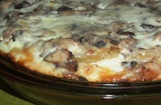 Открытый рыбный пирог (рецепт с пошаговыми фото)