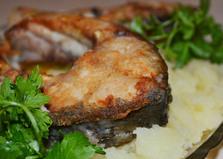Жареный сазан (рецепт с пошаговыми фото)