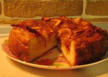 Пирог с яблоками и абрикосовым вареньем (пошаговый фото рецепт)