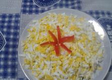 Салат из киви с крабами (пошаговый фото рецепт)