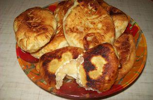 Пирожки с запеченным яблоком (пошаговый фото рецепт)